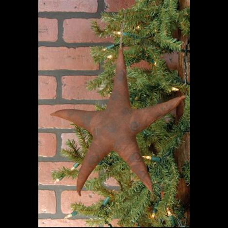 Ornament - Primitive  Star Fabric