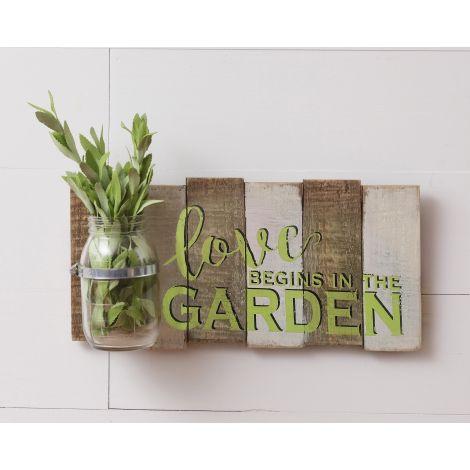 Sign - Love Begins In The Garden