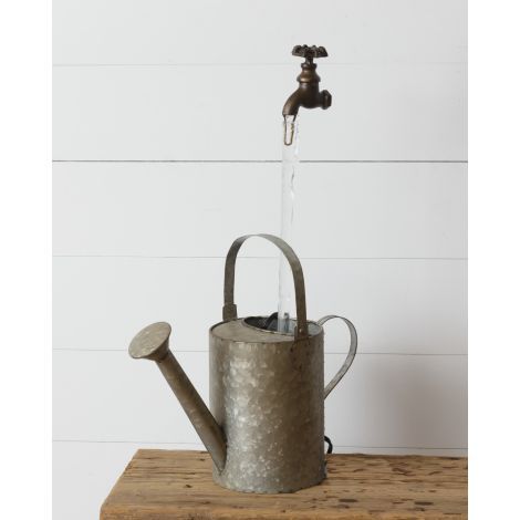 Fountain- Faucet With Watering Can