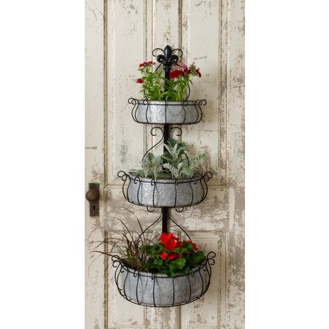 Tiered Wall Planter