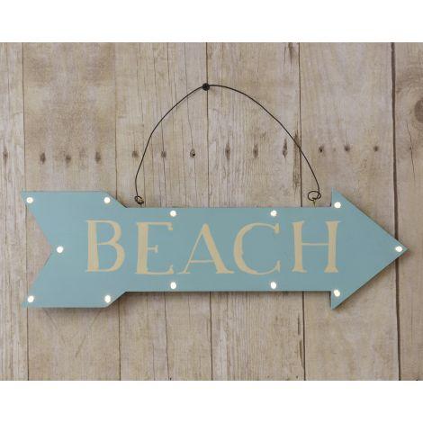 Led Sign - Beach