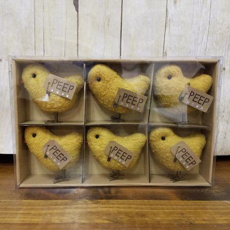 Vintage Peeps In Box (Pk 6)