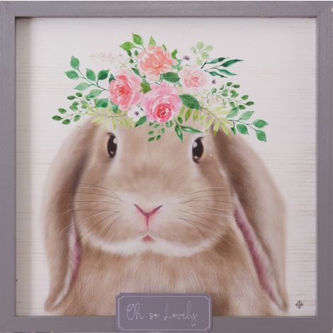 Bunny In Bloom - Oh So Lovely Sign