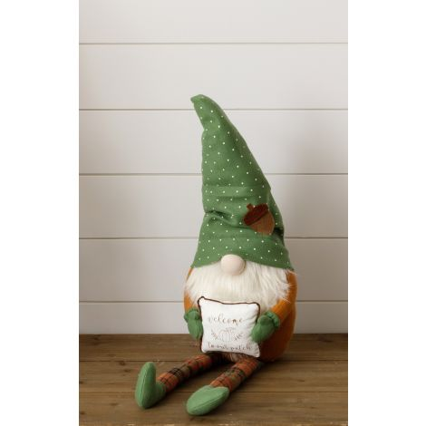 Welcome To Our Patch Gnome Shelf Sitter - 10% OFF for a Limited Time - HURRY, LIMITED AVAILABILITY!!!