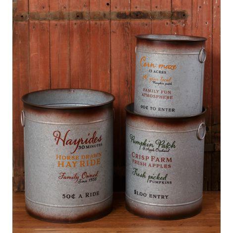 Buckets - Hayrides, Pumpkin Patch, Corn Maze