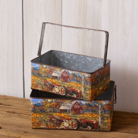 Nesting Boxes - Pumpkin Patch