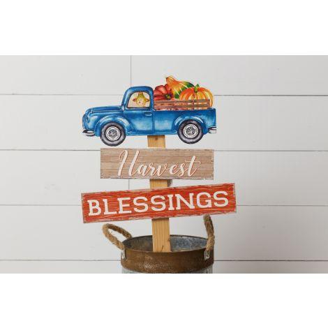 Stake - Harvest Blessings Truck