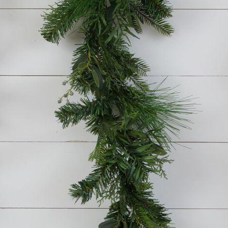 Garland - Winter Evergreens, Juniper Berries
