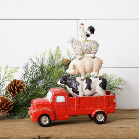Animal Stack in Truck