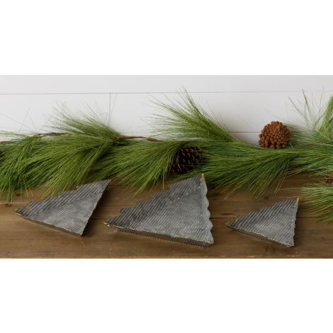 Galvanized Tree Trays With Gold Welding