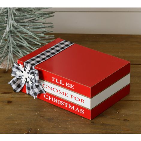 Stamped Books - I'll Be Gnome For Christmas