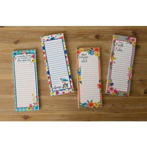 Magnetic Notepad - Inspirational Quotes