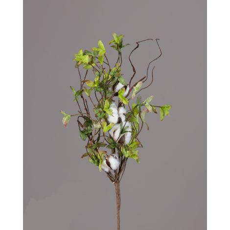 Bush - Cotton Miniature Green Leaves (Pk 2)