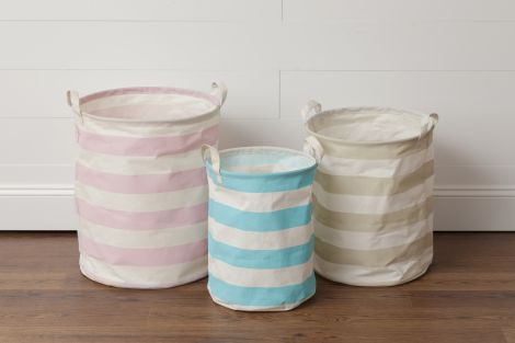 Collapsible Bins - Striped