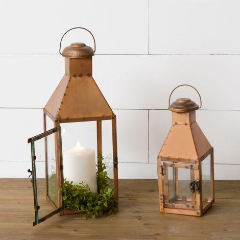 Lanterns - Copper