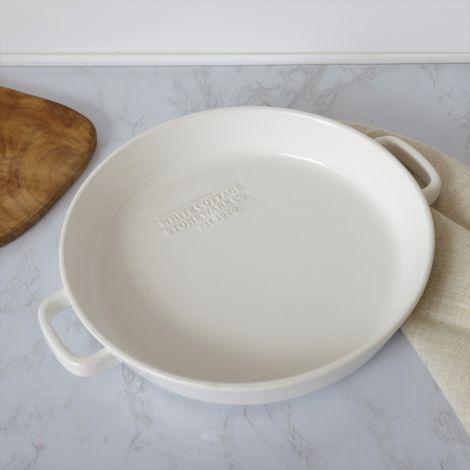 White Cottage Stoneware Baking Pan (Pk 2)