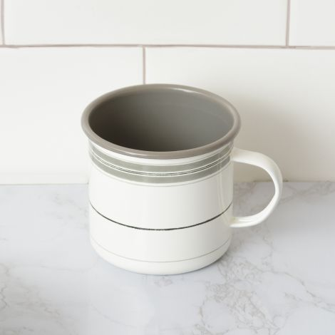 Striped Enamel Mug (Pk 2)