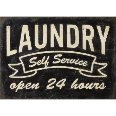 Sign - Laundry, Self Service