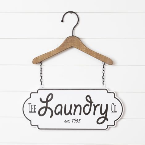Hanger Sign - Laundry