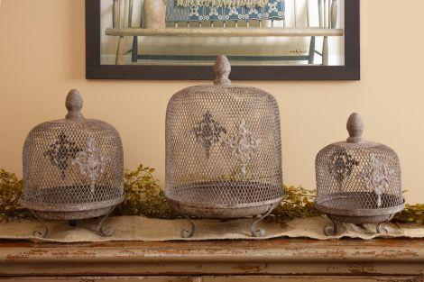 Rustic Renaissance - Plate Set W/Trellis Dome