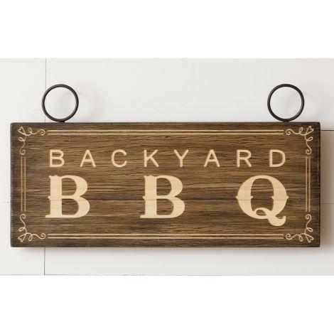 Sign - Backyard BBQ