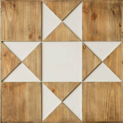 Wall Hanging - Wood Barn Quilt