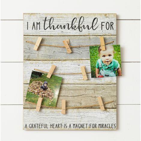 Thankful Card Holder