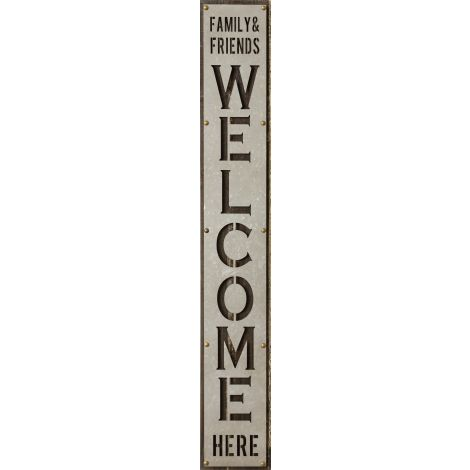 Sign - Family & Friends Welcome