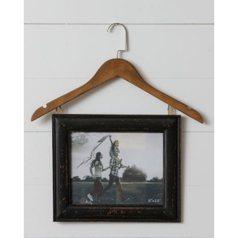 Hanger with Picture Frame
