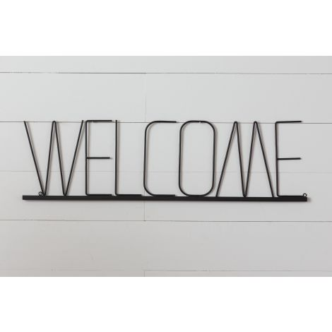 Wall Hanging - Welcome Word Sign