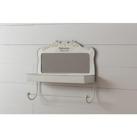 Shelf Organizer With Mirror - Bathroom