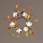 Fall Floral Candle Rings