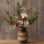 Winter Floral Premades