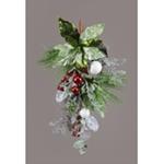 Winter Floral Swags & Teardrops