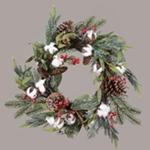Winter Floral Wreaths