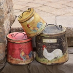 Primitive Country Containers & Bins