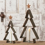 Winter Candles & Candle Holders